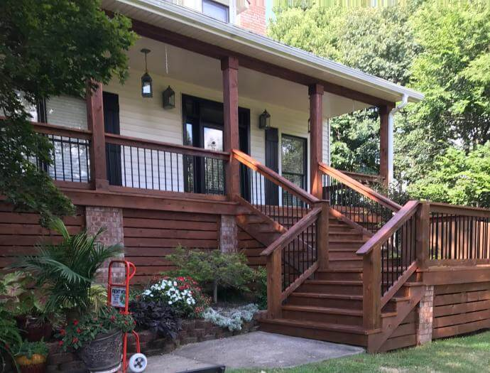 Deck Cleaning Company - Deck Cleaning Contractor New Lenox
