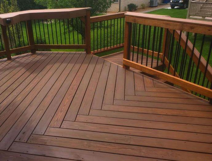 Deck Staining Services, Deck Staining Contractor in Chicagoland Area, Illinois
