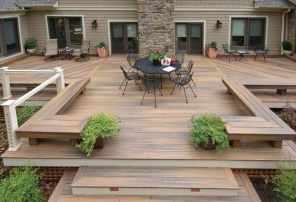 Waterproof your deck by staining on a regular basis with NorthCraft Deck Staining Services of Chicagoland Area