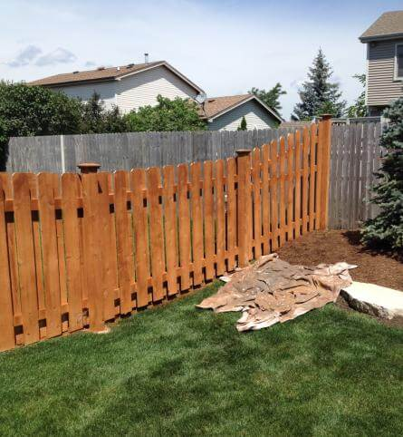 Fence Staining Services in Chicagoland and the Illinois Area