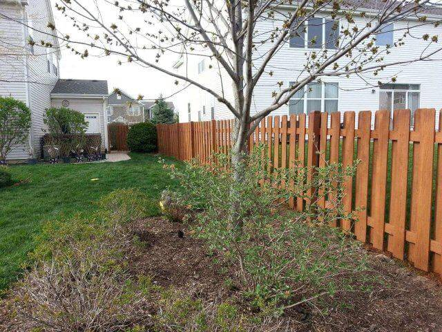 Fence Staining Services in the Chicagoland and Illinois Area