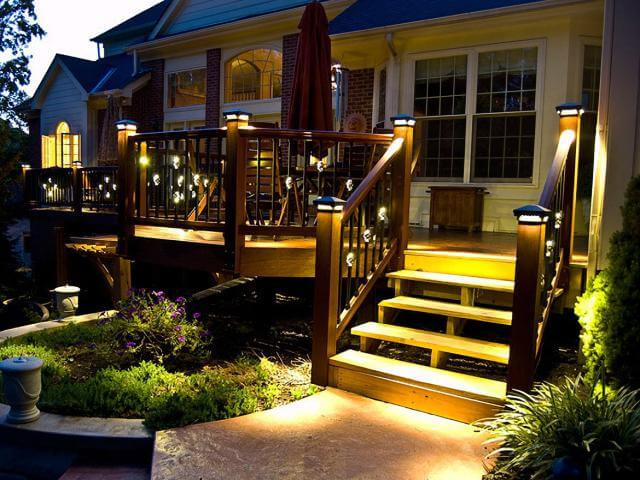 Northcraft deck staining company outdoor lighting services in outdoor lighting services aloadofball Gallery