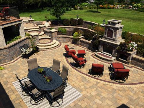 Brick Paver Cleaning Chicagoland Area Illinois