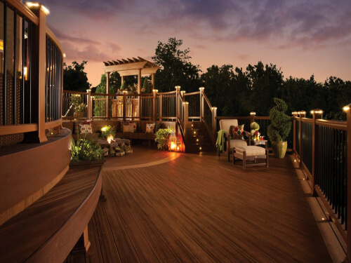 Deck Lighting - Outdoor Lighting Northwest Chicago Suburbs Illinois