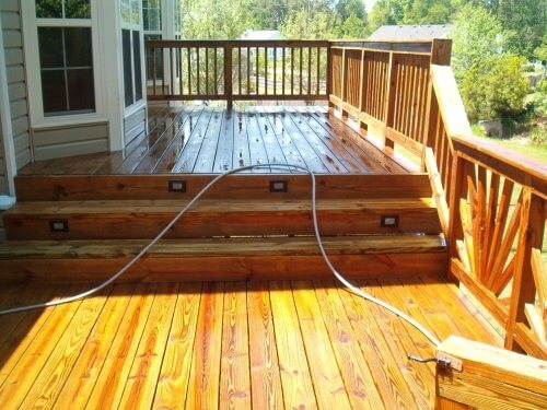 Deck Staining New Lenox Illinois