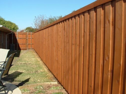 Fence Staining Chicagoland Area Illinois